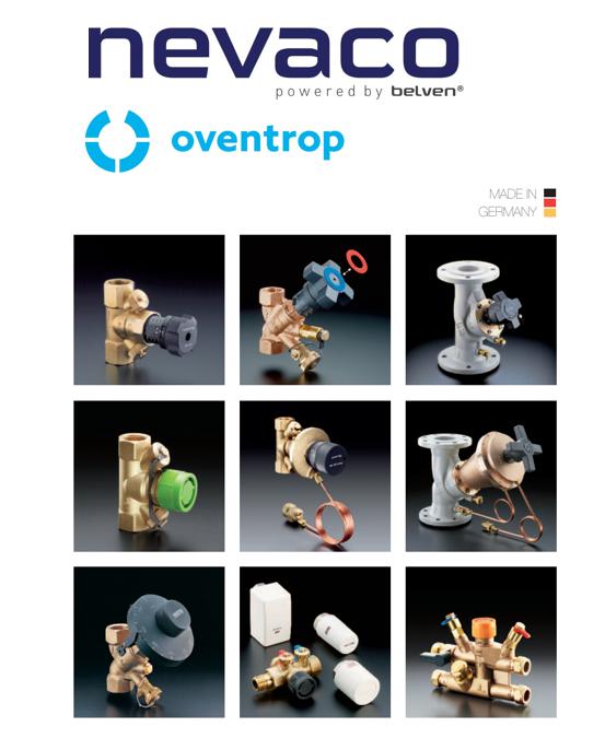 Nevaco dé nieuwe distributiepartner voor het volledige Oventrop GmbH & Co. KG productenpakket.